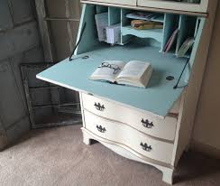 Cheap Secretary Desk by Painted Secretary Desk With Hutch Excellent Secretary Desks With