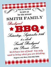 Reunion Invitation Card Funny Picnic And Bbq Party Invitation Card For Birthday Event And