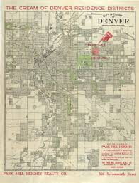 denver schools map park hill neighborhood history denver library history