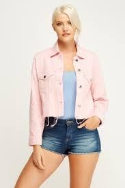light distressed denim jacket light pink distressed denim jacket just 5