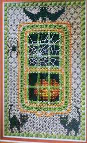 halloween rug 277 best cross stitch halloween images on pinterest halloween