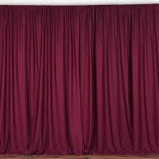 stage backdrops 10ft burgundy polyester curtain stage backdrop partition premium