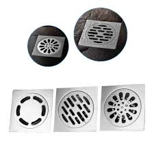 Garage Floor Drain Cover Replacement by Thick Floor Drains Stainless Steel Square Anti Odor Bathroom Drain