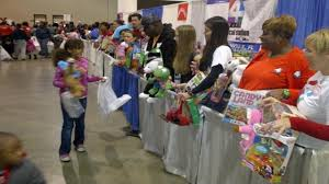 channel 4 collecting toys for children u0027s christmas party of
