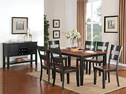 Black Glass Dining Room Sets Dining Room Table Black Simple And Classic Black Dining Room Table