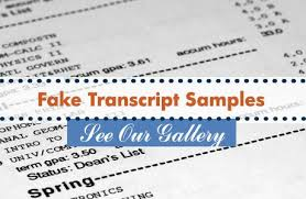 samples of diplomas transcripts and certificates