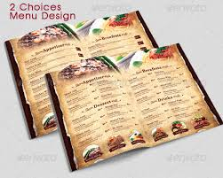 flyer menu template restaurant menu templates graphic designs