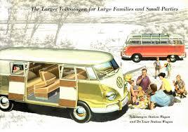 volkswagen van 1958 vw van brochure