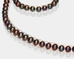pearl headband black pearl headband handmade fashion jewelry by allaia accessories