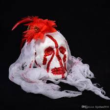 2017 scary halloween haunted house decoration bubble simulation