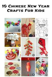 10 chinese new year crafts for kids