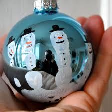 bit funky make these now handprint snowman ornament