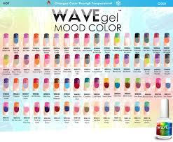 wavegel mood temperature change wave gel nail polish more 66
