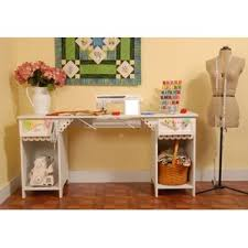 Corner Sewing Table by Drafting U0026 Sewing Tables You U0027ll Love Wayfair