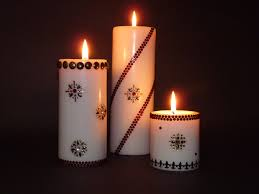 3 decorative pillar candles design ideas home decorating ideas