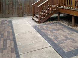 Small Paver Patio by And Hardscaping Brick Work Paver Patios Retaining Walls Seat