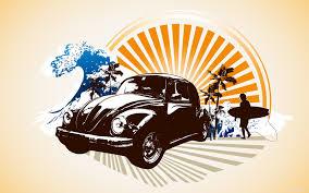 surf car clipart beach retro vw sun surf summer soffe pinterest retro