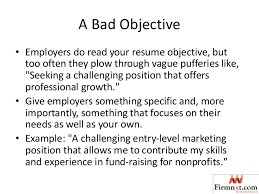 My Objective In Resume Common Objectives In Resume 9673