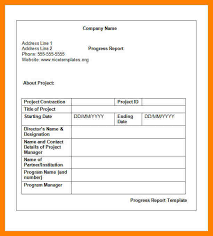 manager weekly report template 7 weekly progress report format packaging clerks