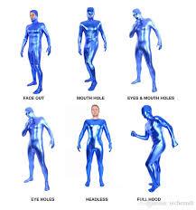 Skin Suit Halloween Costume Body Lycra Spandex Skin Suit Catsuit Halloween Party