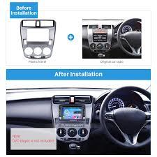lexus lights for honda city din 2008 2014 honda city ballade manual ac car radio fascia panel