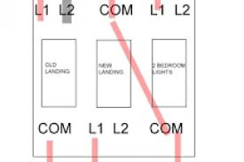 wiring a light switch 2 gang 2 way diagram wiring diagram