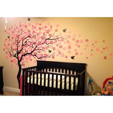 Wall Decals Amazon by Tree Wall Decals For Nursery Uk Leaning Tree Wall Decal Tree Wall