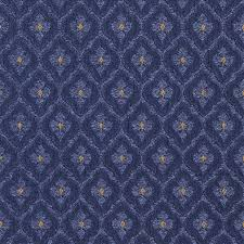 Blue Damask Upholstery Fabric Navy And Gold Diamond Clover Leaf Upholstery Fabric By The Yard