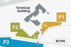 London Airports Map Car Parking Exeter Airport