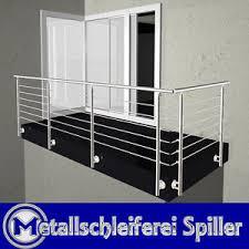 balkon edelstahlgel nder v2a edelstahl geländer balkon edelstahlgeländer l form vorgesetzte