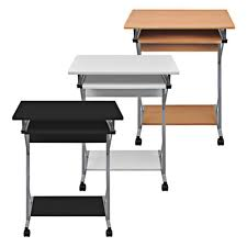 Computertisch Rollen Computertisch Schreibtisch Bürotisch Computerwagen Pc Tisch Laptop