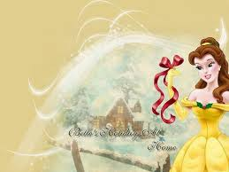 disney christmas images belle 3 disney princess wallpaper