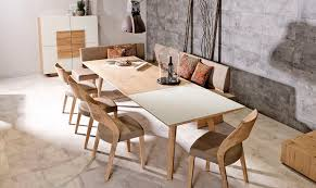 Beech Dining Room Furniture by Contemporary Dining Table Oak Beech Rectangular V Montana