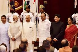 New Cabinet India Modi Cabinet Reshuffle Pm Plugs Many Leaks But Leaves Many