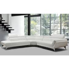 White Leather Sofa Beds Modern Contemporary Sofa Sets Sectional Sofas U0026 Leather Couches
