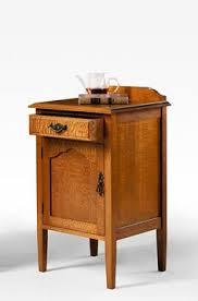 Oak Bedside Tables Silky Oak Bedside Table With Drawer U0026 Shelf Cunningham