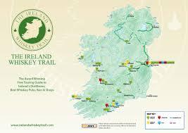 Scotch Whisky Map Irish Whiskey Trails Ireland Chauffeur Travel