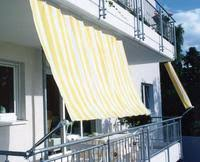 balkon wetterschutz balkon sonnenschutz sichtschutz mit sonnensegeln in