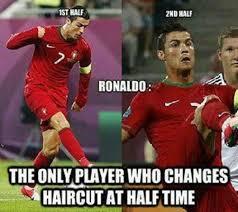 Football Player Meme - 34 funny football soccer meme ronaldo only player who changes
