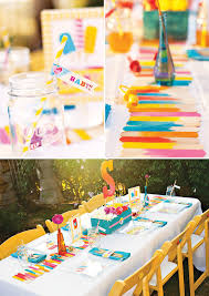 baby shower colors colorful baby shower decorations gen4congress