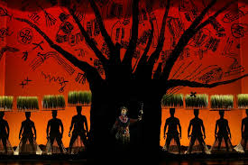 king of backdrops review the lion king broadway in chicago 2015 chicago