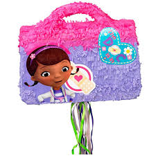 doc mcstuffins wrapping paper disney junior doc mcstuffins doctor bag 3d pull string pinata