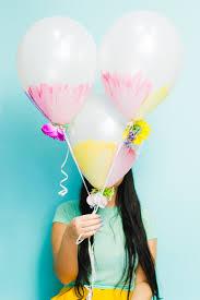 flowers and balloons diy watercolour flower balloons bespoke wedding