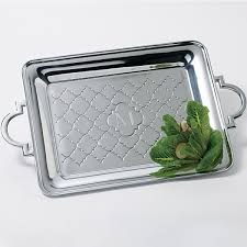 engraved tray metal tray