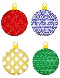 ornaments ornament template printable paper