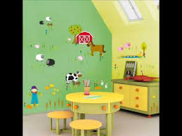 kids wall stickers Ideas for decorating a baby boy room