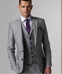 slim fit suit with vest dress yy