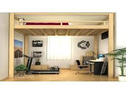 lit bureau adulte bureau adulte pas cher structure de lit lou lit adulte mezzanine