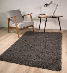 Modern Rugs Co Uk Review by Super Soft Luxury Grey Shaggy Rug 5 Sizes Available 60cmx110cm