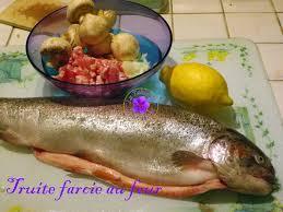 comment cuisiner une grosse truite truite farcie au four la table de jean